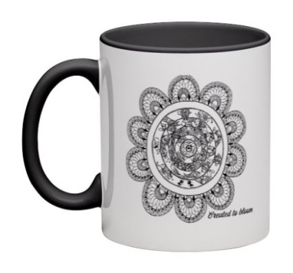 11 oz coffee mugs : Created to Bloom
