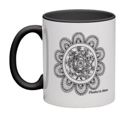 11 oz coffee mugs : Created to Bloom