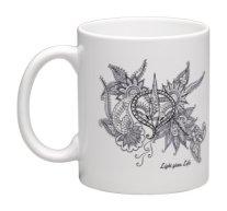 11 oz mugs : Light gives Life